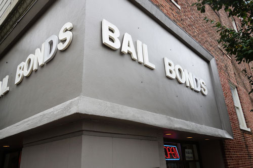 Bail Bond company office in Birmingham